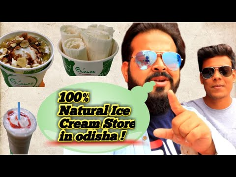 100% Natural & Best Ice Cream Store In ODISHA!! || GUAVAZ -SCOOPS OF NATURE,NATURAL ICE CREAM STORE