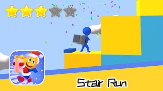 Stair Run Walkthrough Build your path! Recommend index three stars