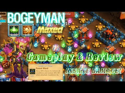 Bogeyman Maxed Gameplay & Review - Castle Clash