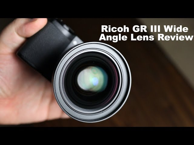 Ricoh GW-4 Wide Angle Lens Review for Ricoh GR III (GA-1 Review)
