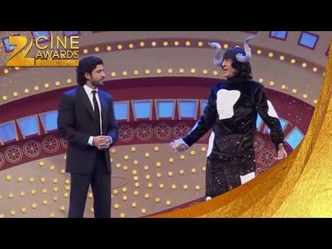 Zee Cine Awards 2012 Farhan Akhtar & Chunky Pandey's Comic Act