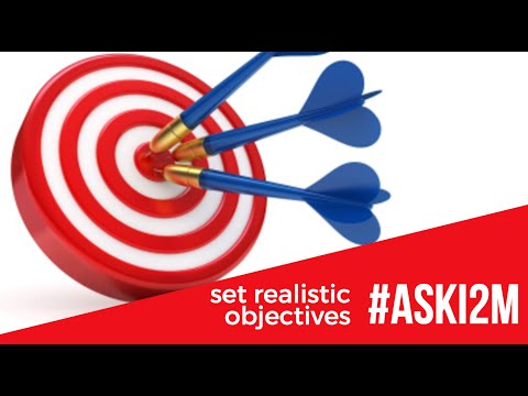 How To Set Your Business Marketing Objectives | #aski2m