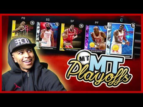 #MTPlayoffs - MY TEAM UPDATE/SCHEDULE (Houston Rockets) NBA 2K16 All-Time Team Tournament
