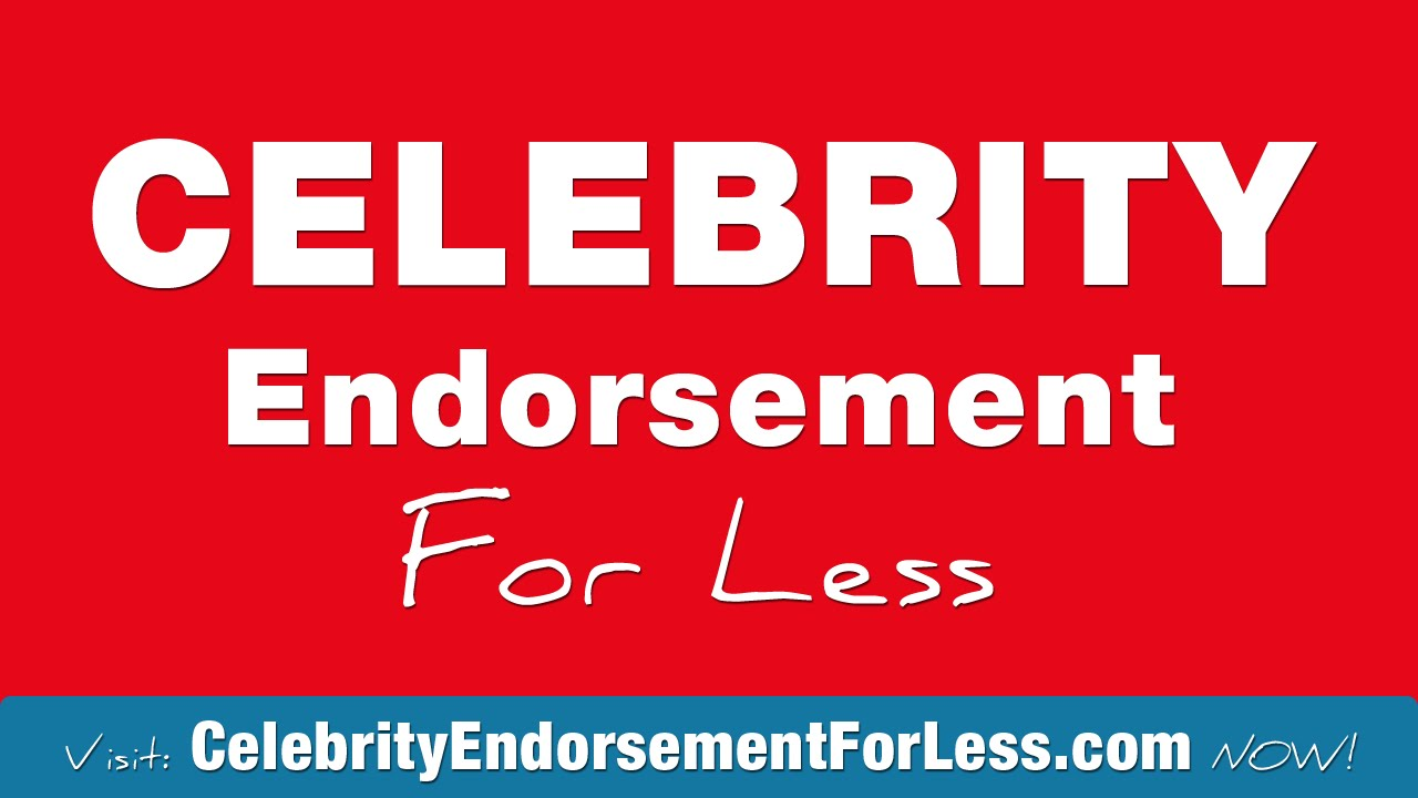 Endorsement Meaning - YouTube