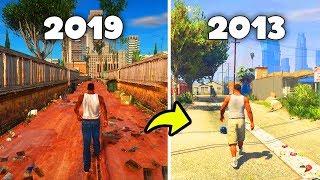 Does GTA SA 2019 Remastered Look Better Than GTA 5?