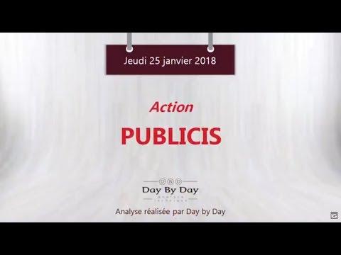 Action Publicis : la tendance reste baissière - Flash analyse IG 25.01.2018