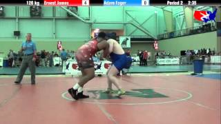 Ernest James vs. Adam Fager at 2013 ASICS University Nationals - FS