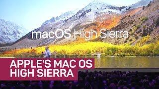 Apple introduces new MacOS High Sierra