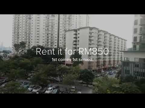 Danau Kota Flat For Rent