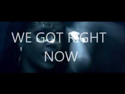 Rihanna - Right Now ft. David Guetta (Lyrics video)