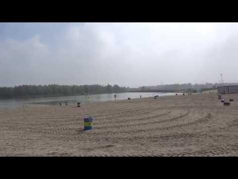 Blijburg, strand IJburg is weer open.