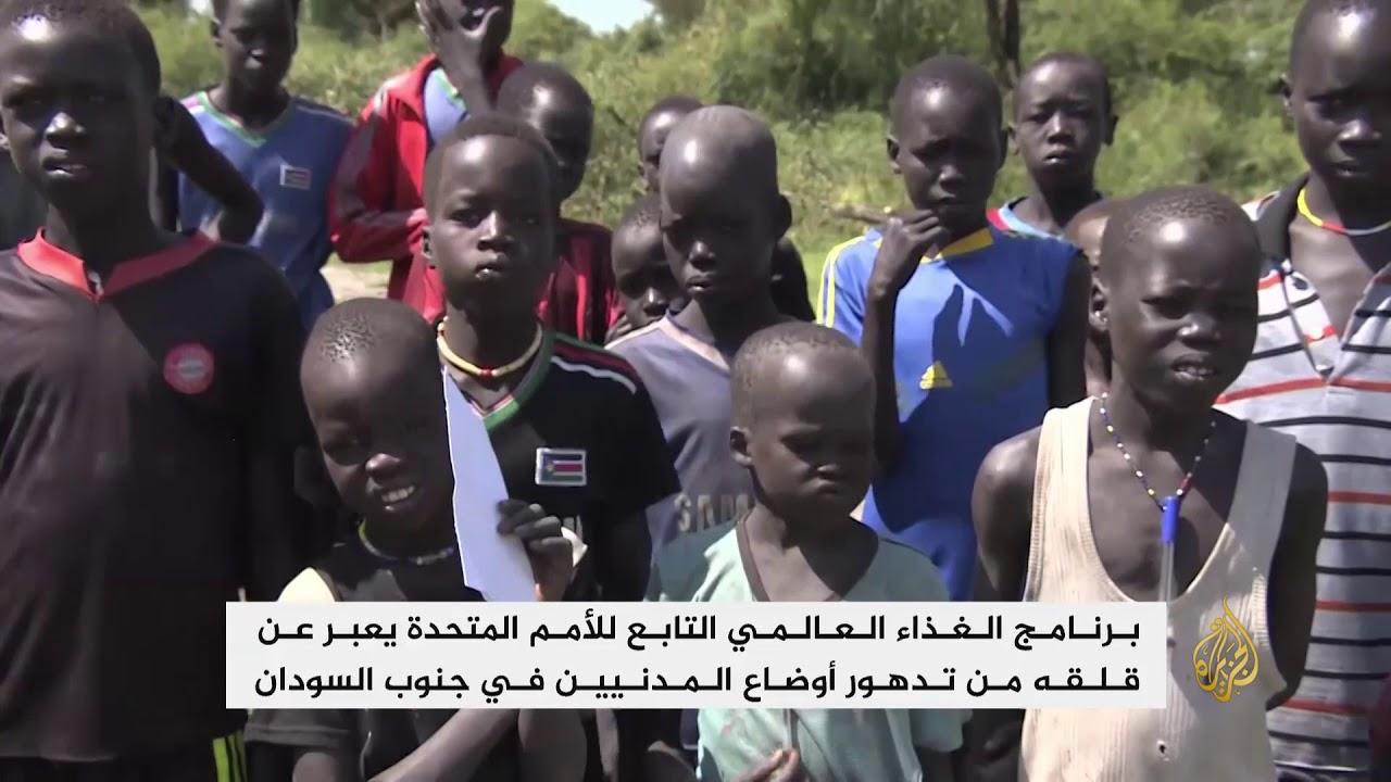 الجزيرة:أهالي جنوب السودان يعانون نقصا حادا في الغذاء