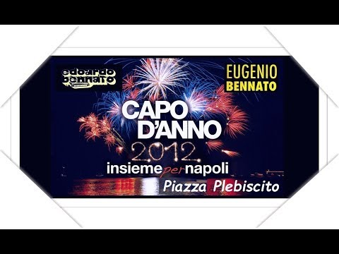 Edoardo & Eugenio Bennato - Napoli - Piazza Plebiscito (Live concert) - 31-12-2011.