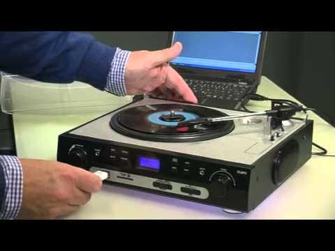 auvisio USB-Plattenspieler