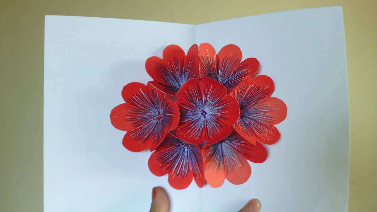 Teachers day flower pop up card teachers day pop up card tutorial teachers day flower pop up card teachers day pop up card tutorial 3d pop up flower cards youtube m4hsunfo Image collections