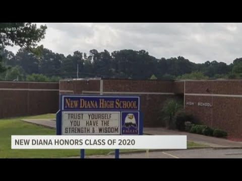 New Diana High School announces on-campus graduation date for senior