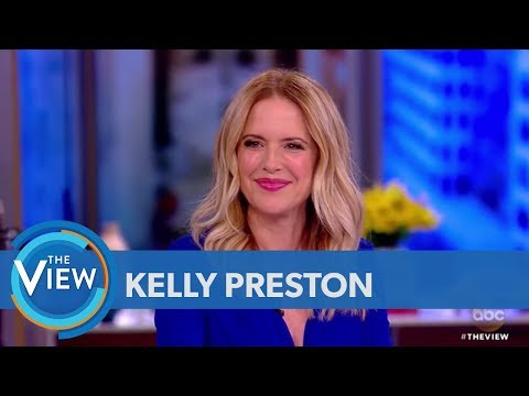 Kelly Preston Talks Playing Victoria Gotti, Husband John Travolta Visiting Brooklyn  The View