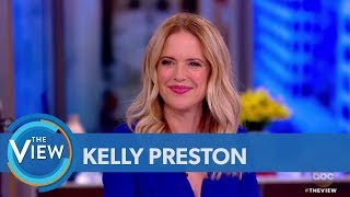 Kelly Preston Talks Playing Victoria Gotti, Husband John Travolta Visiting Brooklyn | The View