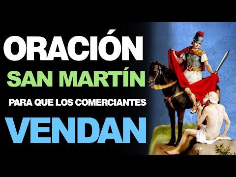 🙏 Oración a San Martín para que LOS COMERCIANTES PUEDAN VENDER MUCHO 🙇️