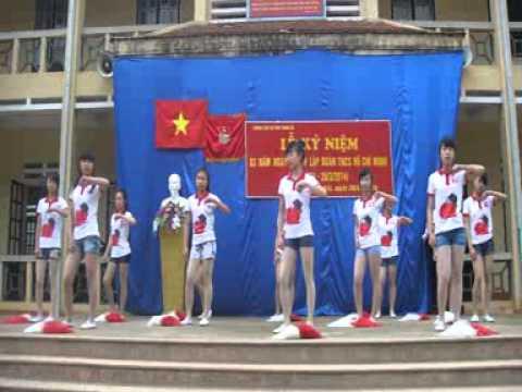 Run to you - Trường THCS TT Phong Hải (Nhảy Aerobic)