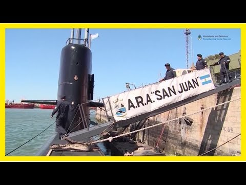 'we keep searching' for argentine sub after 'explosion' report, navy says
