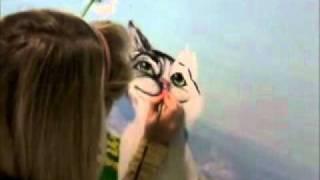 Настенный рисунок Кота