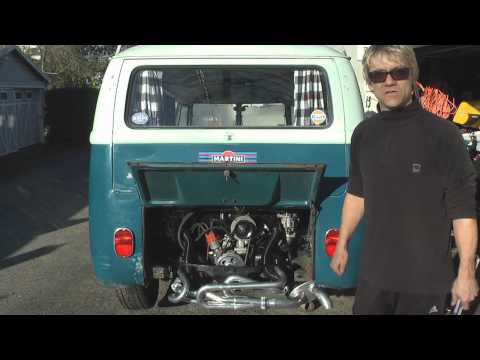 Vintage VW Bus Engine Installation - DIY German Aircooled Garage #12