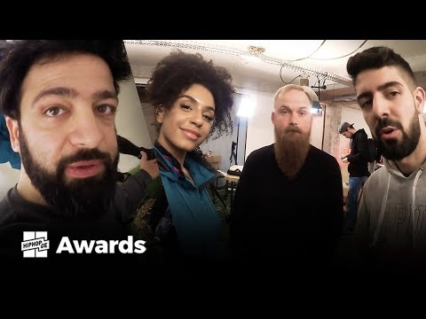 Backstage mit Rooz, Toxik, Anita & Aria bei den Hiphop.de Awards 2017 presented by Ultimate Ears