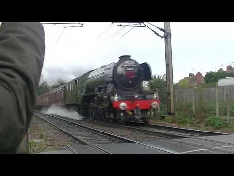 Flying Scotsman - Stowmarket 11th November 2017
