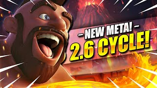 The STRONGEST New Hog Rider Deck in Clash Royale Now!! 2.6 FAST CYCLE!!