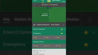 Sportwetten Strategie - Over 0,5 Tag 3/30