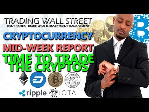 TIME TO TRADE THE CRYPTOS, MID WEEK REPORT October 25th 2017