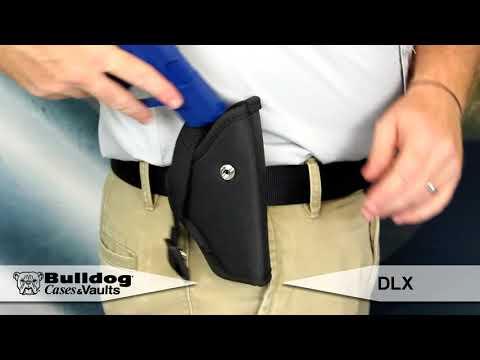 Bulldog Cases Pit Bull Hip Holster