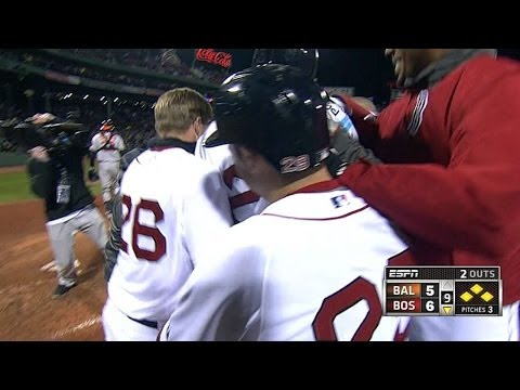 Red Sox walk off on wild throwing error