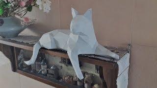 Low Poly Cat - Papercraft #1