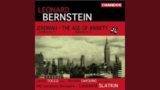 """Symphony No. 1, """"Jeremiah"""": III. Lamentation: Lento"""