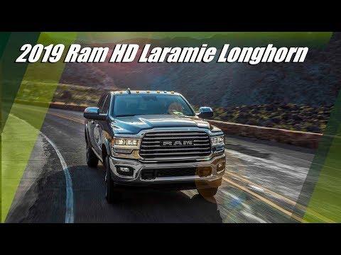 2019 Ram HD Laramie Longhorn Overview