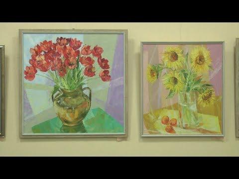 ТРК НІС-ТВ: Объектив 21 02 20 В Николаеве открылась выставка На пороге весны