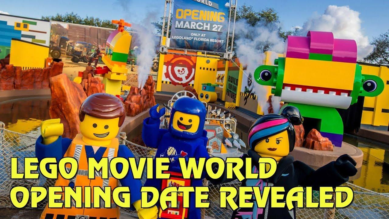 Lego Movie World Opening Date Revealed For Legoland Florida Resort