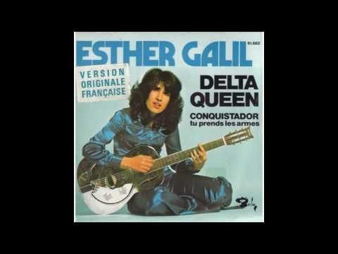 Esther Galil   Delta queen  1972