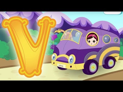 Letter V - Olive and the Rhyme Rescue Crew Video For Kids Nursery Songs Learn ABC