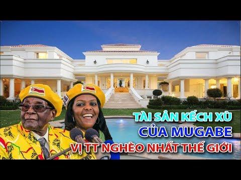 Choáng với khối tài sản tỉ USD của vị tổng thống nghèo nhất thế giới MUGABE