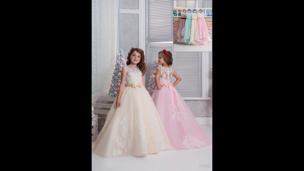 Детски платье гипюровые