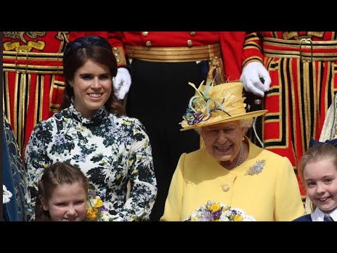Princess Eugenie Joins The Queen As HM Distributes Maundy Money At Royal Service 2019