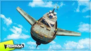 FLYING GIANT TUG BOAT! (GTA 5)