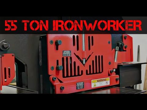 55 Ton Ironworker Capabilities