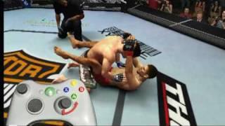 UFC 2009 Undisputed Ground Game Tutorial - Xbox 360