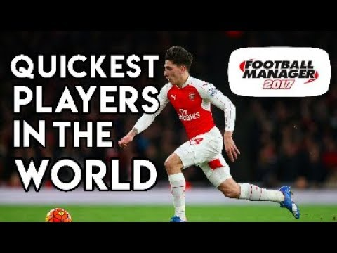 Quickest Players in the WORLD - According to Football Manager 2017