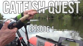 Vissen op Meerval in Frankrijk [LIVE aanbeten!] - Catfish Quest #1