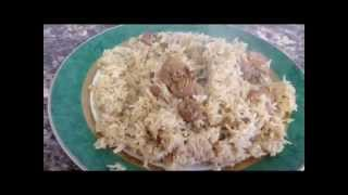 This is how to make chicken pilau.